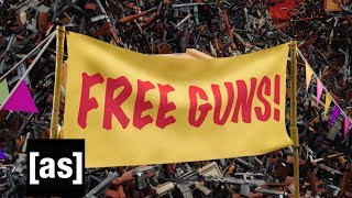Free Guns | Your Pretty Face Is Going To Hell | adult swim