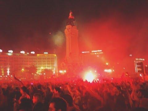 Benfica - Campe�o Portugu�s 2013/2014 - Marqu�s de Pombal e Est�dio da Luz