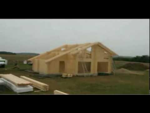 Construccion casas madera,Cómo se construye casa madera VidaNatural