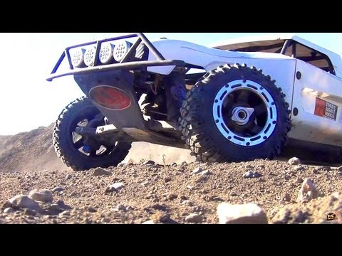 RC ADVENTURES - LOSi 5ive T's (5T's)  Modded 4x4 1/5th Scale Gas Trucks
