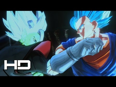 Super Vegito Blue VS Zamasu Full Fight | DRAGON BALL SUPER XENOVERSE 2 PC MODS