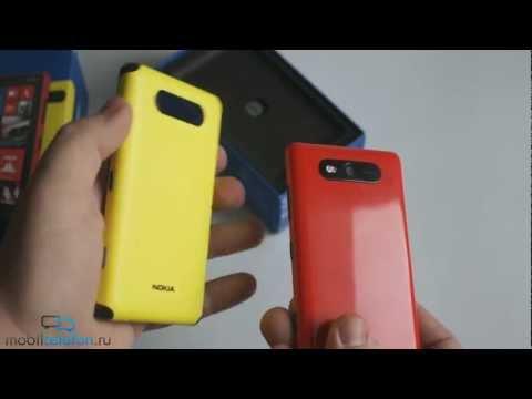 Распаковка Nokia Lumia 820 (unboxing) и защитный корпус: комплект