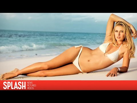 Maria Sharapova Vacations From Tennis In A Bikini video