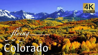 Colorado By Drone - Telluride, Island Lake, Ice Lakes, Blue Lakes Trail, & More 4K Travel Footage