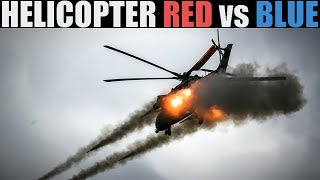 Helo Wars! | Chopper Red Vs Blue PvP | DCS 2.5