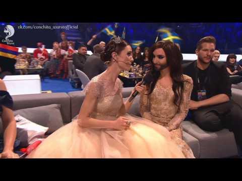 Conchita Wurst at the Eurovision 2014   Кончита Вурст, Евровидение 2014
