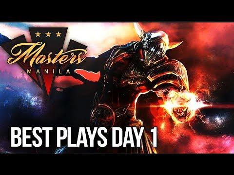 Manila Masters Dota 2 - BEST PLAYS - Day 1