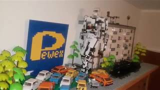 AutoBoty z PRL czyli Transformers nad Wisłą (makieta z klocków COBI)