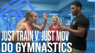 Just Train vs. Just Move at Tumble Tykes Gymnastics | Just-Train TV