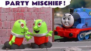 Funny Funlings Party Prank toy story with Thomas The Tank Engine