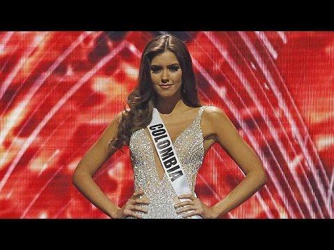 طالبة كولومبية تفوز بلقب ملكة جمال الكون
