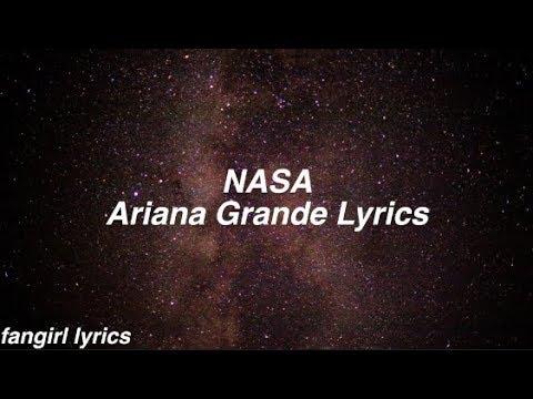 NASA || Ariana Grande Lyrics