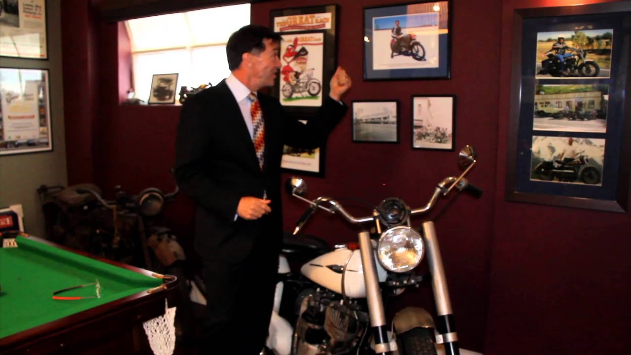 Man Cave Show Melbourne : Amazing motor bike collection man caves ear to the