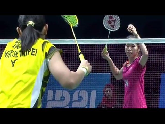 WS  Ratchanok INTANON vs TAI Tzu Ying - Destination Dubai 2014: Day 1