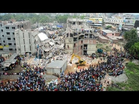 Garment workers protest as Bangladesh toll tops 300