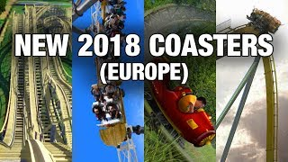 EVERY NEW for 2018 Coaster (Europe Edition)