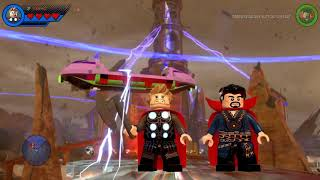 LEGO MARVEL Vol 13 ► LEGO Marvel Super Heroes 2   All Avengers  Infinity War Characters in Fight