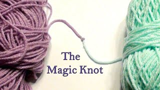 How to do a Magic Knot Tutorial - Crochet Jewel