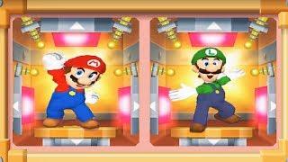 Mario Party 7 - 8 Player Ice Battle - Mario Luigi Wario Waluigi All Funny Mini Games