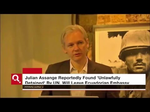 Julian Assange To Leave Ecuadorian Embassy On Friday