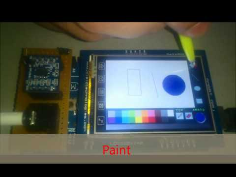 Arduino- Smart GPU tablet