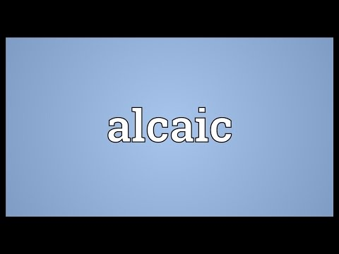 Header of Alcaic