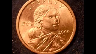 2000-P Cheerios Sacagawea Gold Dollar Coins Are Worth $5,000+