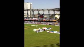 National anthem at the World Cup Final