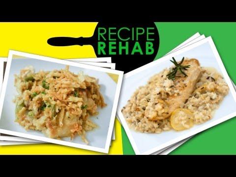 Low Fat Chicken And Rice Casserole Recipe I Recipe Rehab I Everyday Health