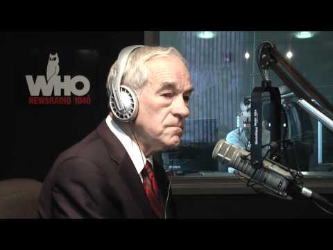 Ron Paul responds to 60 Minutes story on congressional insider trading