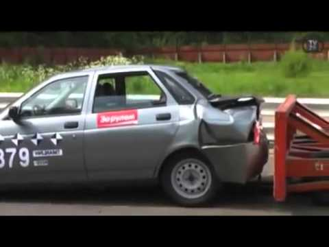 Lada Priora Crash Test Crash Test Auto Vaz Lada