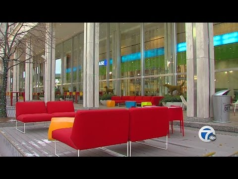 A look at WXYZ's new downtown Detroit studio