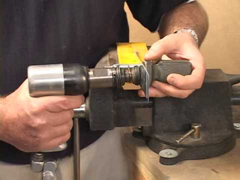 Aircraft Flush Riveting Rv Builder Basics Youtube