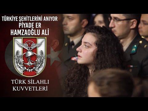 Türkiye Şehitlerini Anıyor - Piyade Er Hamzaoğlu Ali