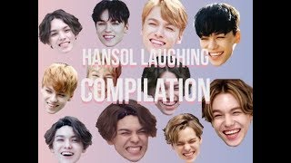 Hansol laughing. Because you need it?