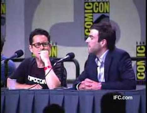 IFC Comic Con 2007: Star Trek Panel