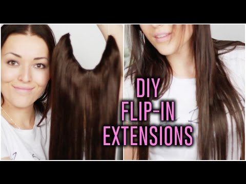 DIY ❤ Flip-in extensions   Beautygloss