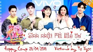 [Vietsub] HAPPY CAMP 28/04/2018 Thẩm Nguyệt, Tống Uy Long, Trần Phi Vũ, Châu Khiết Quỳnh, Vu Văn Văn