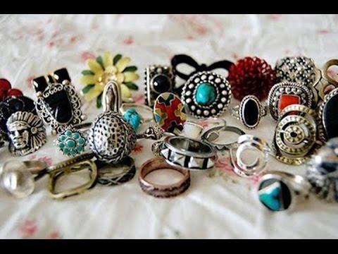 Моя коллекция бижутерии