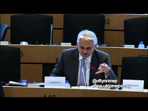People across Europe had no say over EU currency grab - @oflynnmep