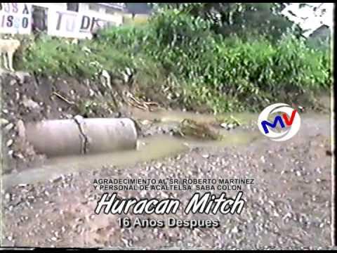 HURACAN MITCH SABA COLON HONDURAS 1998