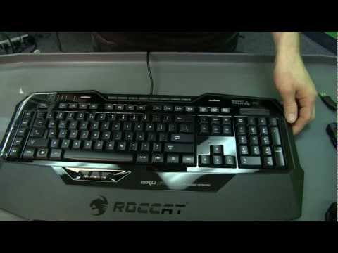 Roccat ISKU FX Gaming Keyboard Unboxing & First Look Linus Tech Tips