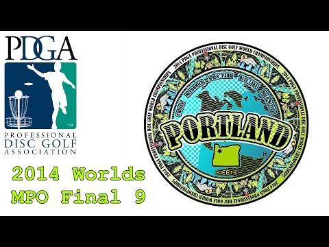 2014 PDGA Pro Worlds: MPO Final 9 (Wysocki, McBeth, Ulibarri, Doss)