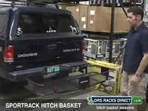 Sportrack Cargo Basket Sportrack A30850 Hitch Cargo