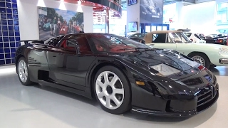 Bugatti EB110 SuperSport: In-Depth Exterior and Interior Tour!