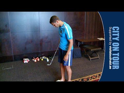 Jack Rodwell golf ball juggling
