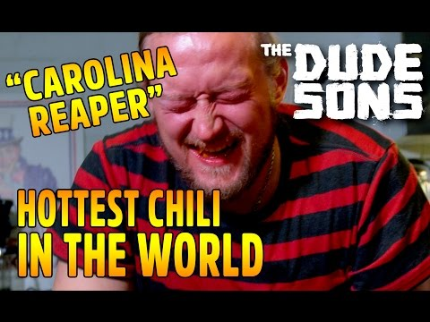 Eating World's Hottest Pepper - HUGE FAIL - Carolina Reaper Challenge