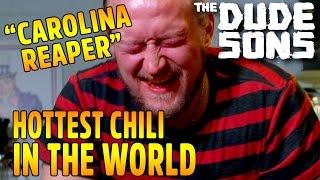 Eating World's Hottest Pepper - HUGE FAIL - Carolina Reaper Challenge