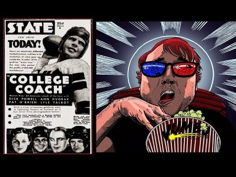 College Coach (1933) Movie Review