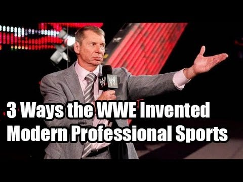 3 Ways the WWE Invented Modern Professional Sports